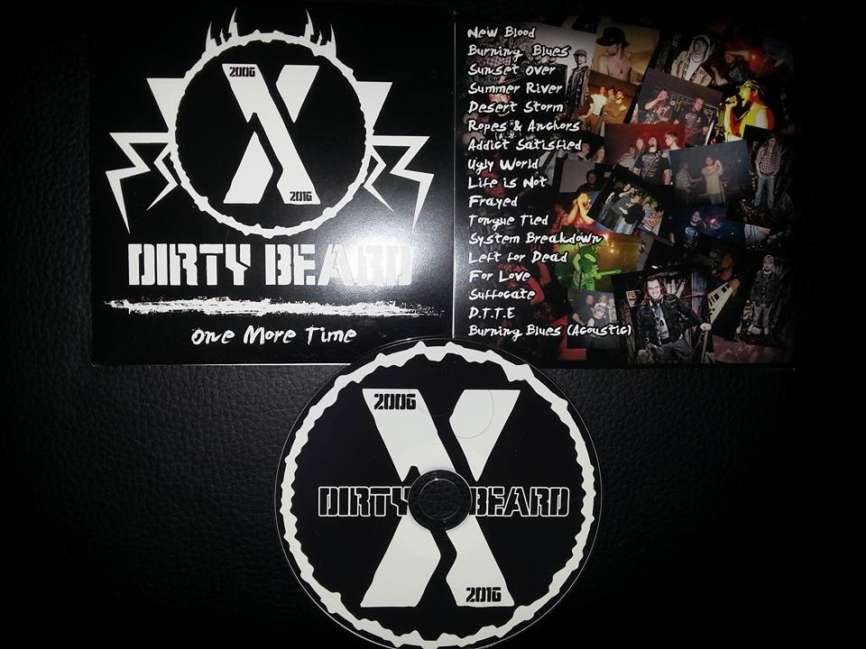 Printed album design for Dirty beard